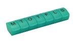 PillMate Ugeæske Stor - 1 dose dgl.